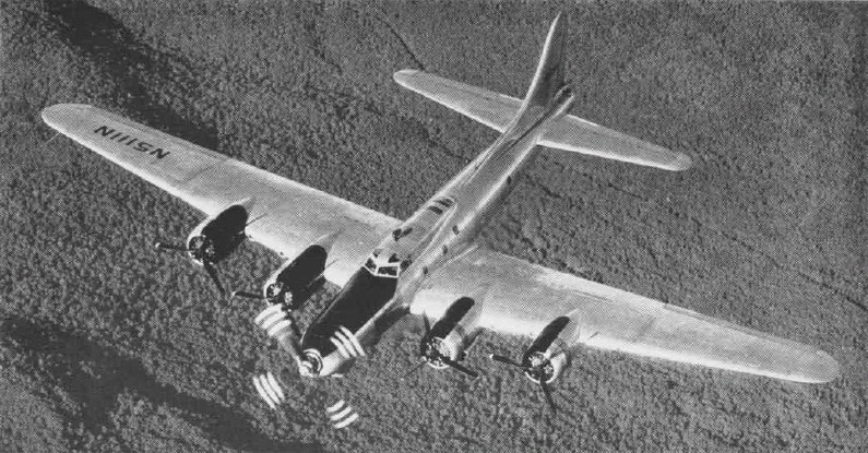 Boeing B-17 Flying Fortress (JB-17G) en vol