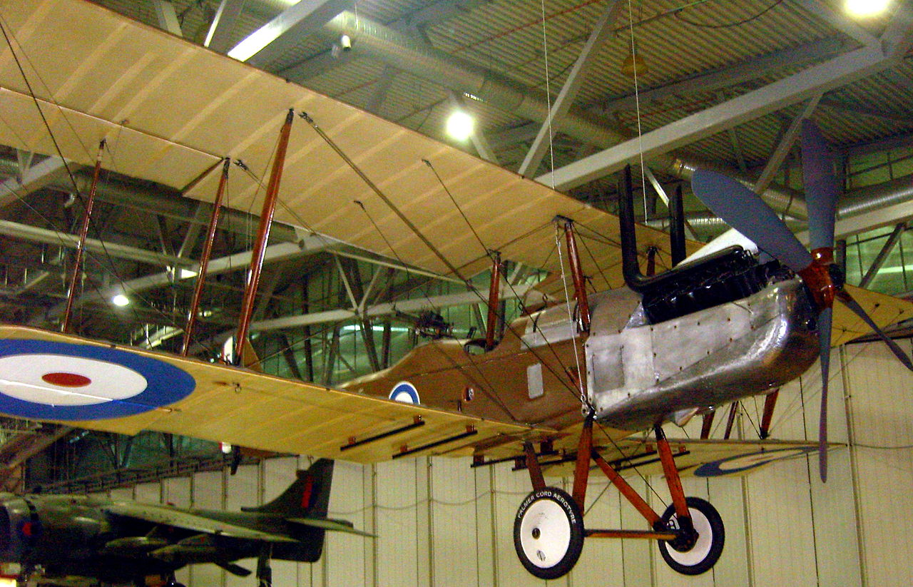 Royal Aircraft Factory RE.8 à l'Imperial War Museum