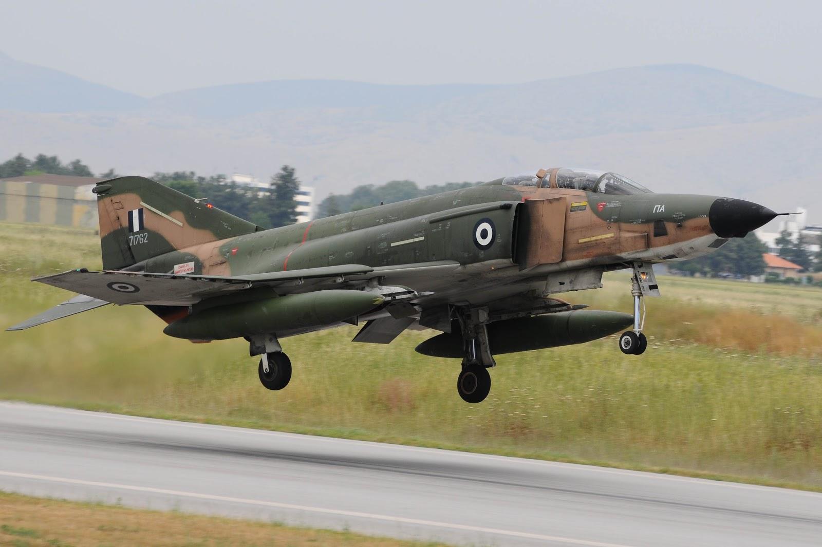 McDonnell Douglas RF-4E Greek Phantom II taking off