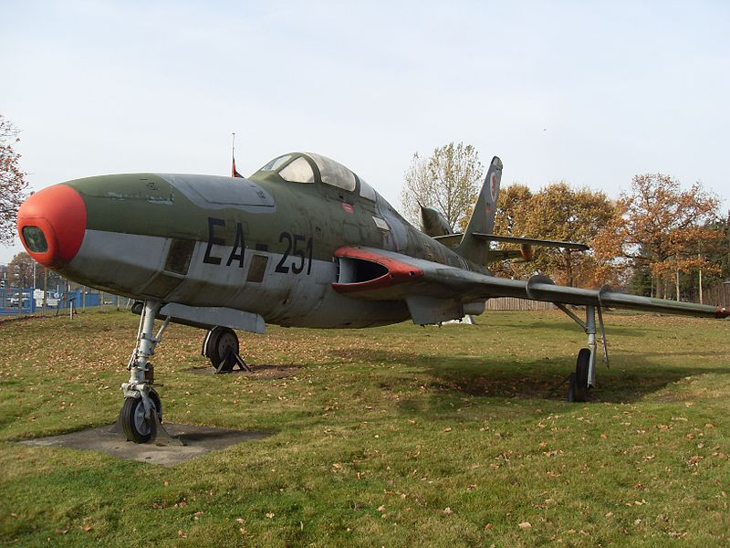 Republic RF-84F Thunderflash allemand
