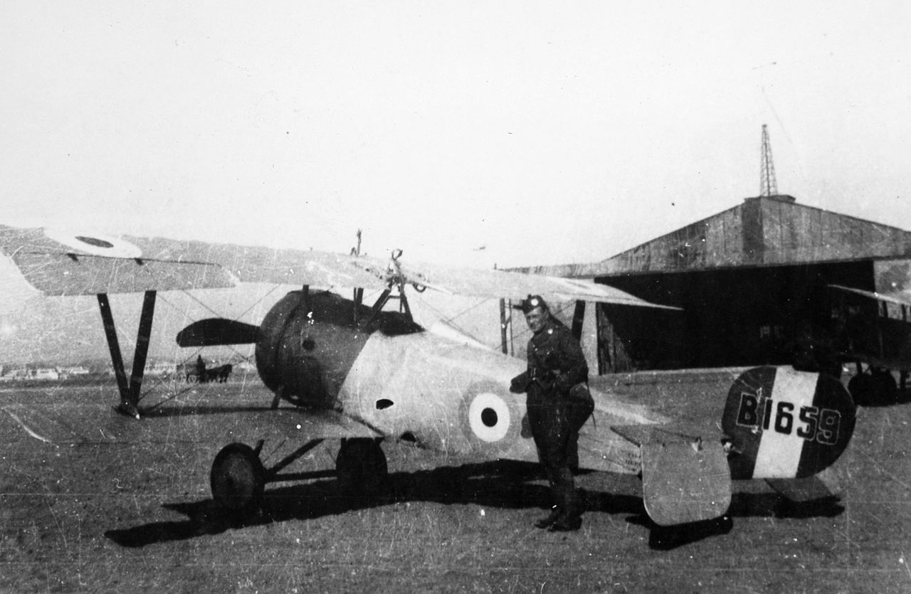 Nieuport 23 C1 du Royal Flying Corps