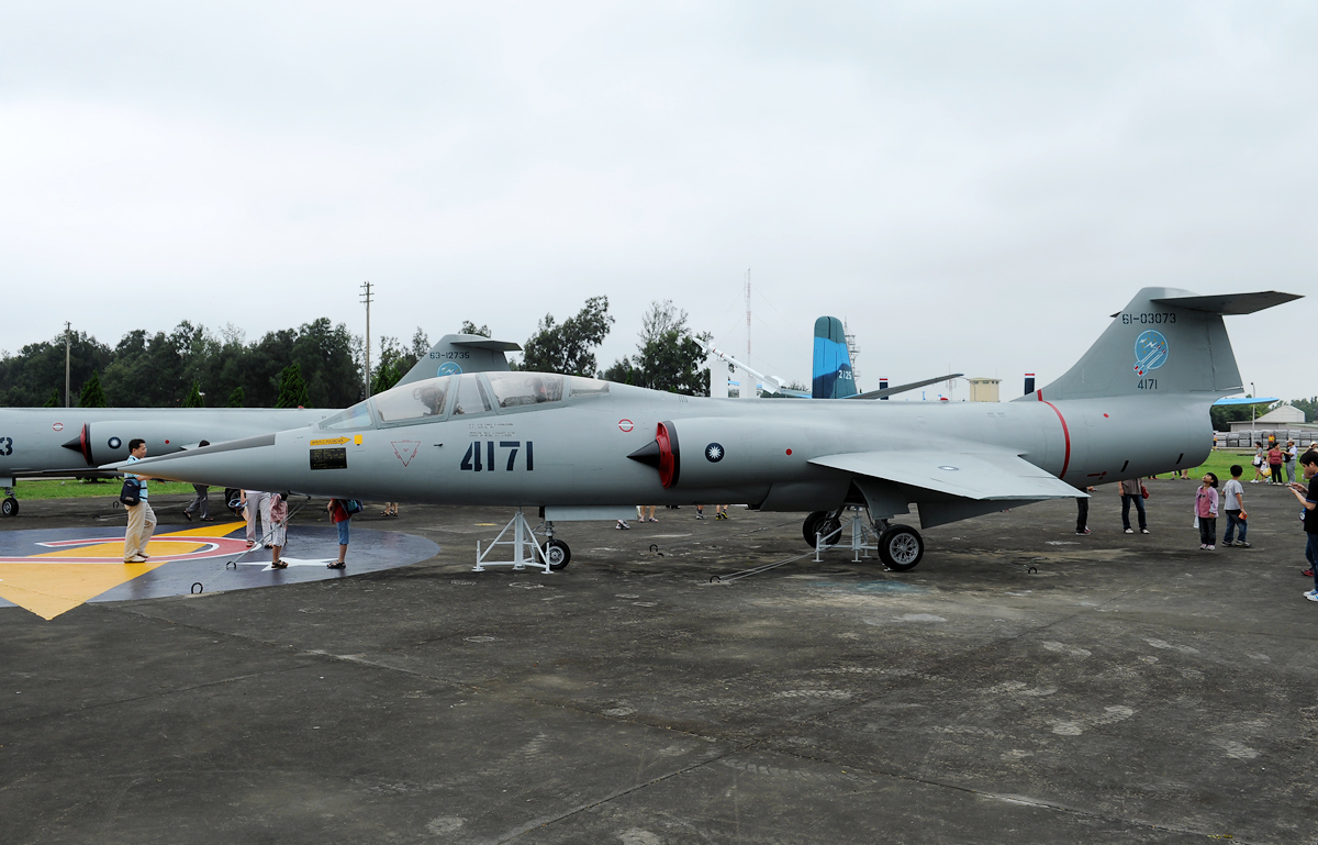 Lockheed TF-104G Starfighter taïwanais