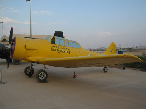 North American T-6 Texan saoudien