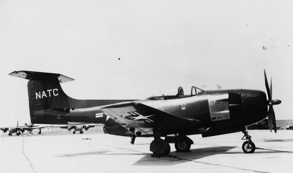 Curtiss XF15C-1 au sol