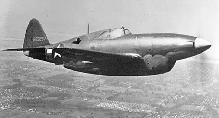 Republic P-47 Thunderbolt (XP-47H)
