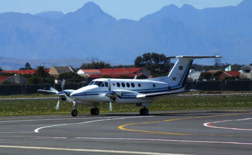 Beech B200C Super King Air sud-africain