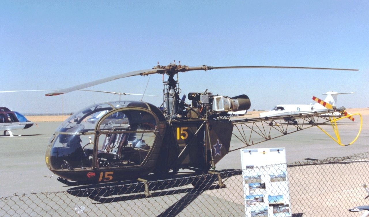 Sud-Aviation Alouette II sud-africaine