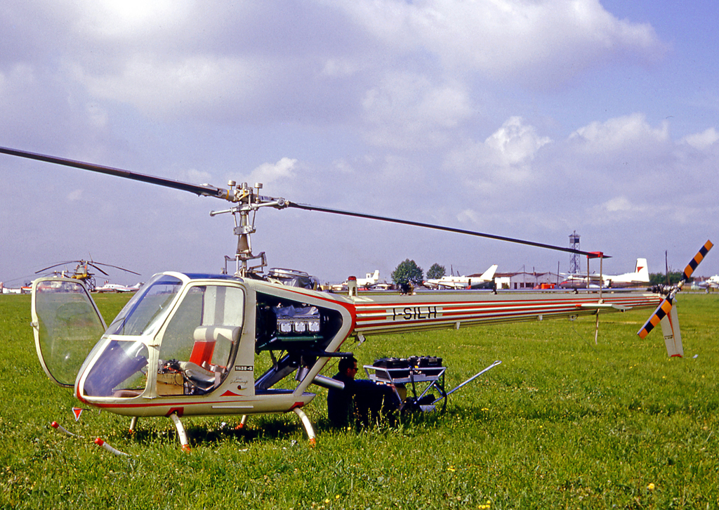 Silvercraft SH-4 au salon du Bourget '65