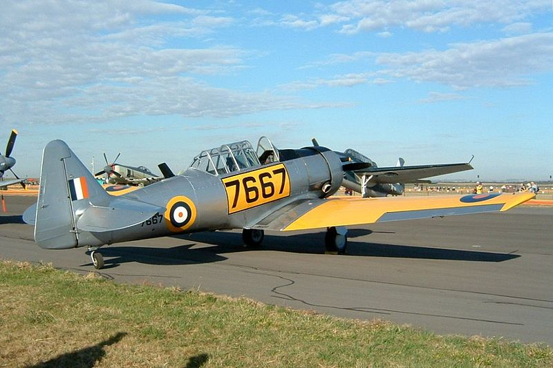 North American T-6 Texan (SNJ-4) sud-africain