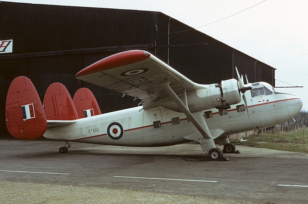 Scottish Twin Pioneer CC.2 de la RAF