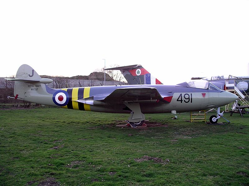 Hawker Sea Hawk FGA.6 de la Royal Navy