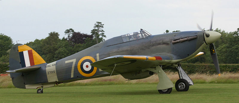 Hawker Sea Hurricane IB de la Royal Navy