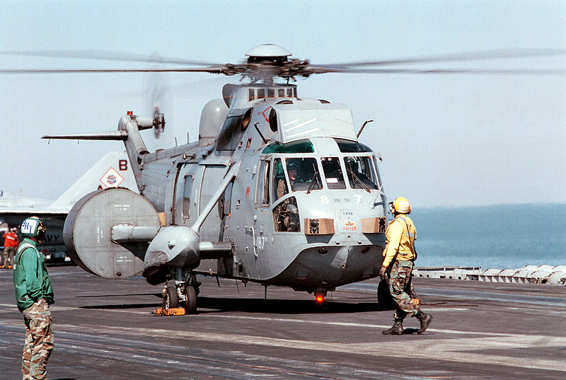 Westland WS.61 Sea King AEW.2 de la Royal Navy