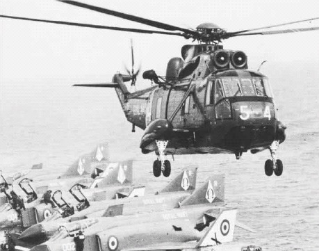 Westland WS.61 Sea King HAS.2 de la Royal Navy