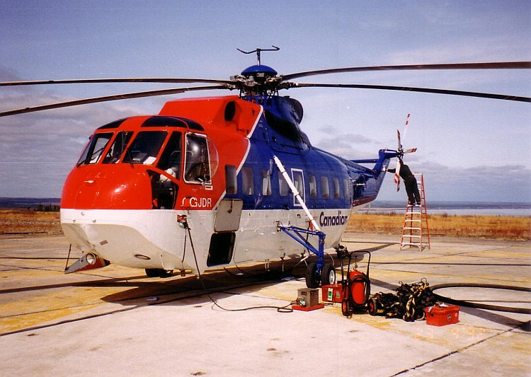 Sikorsky S.61L Sea King civil
