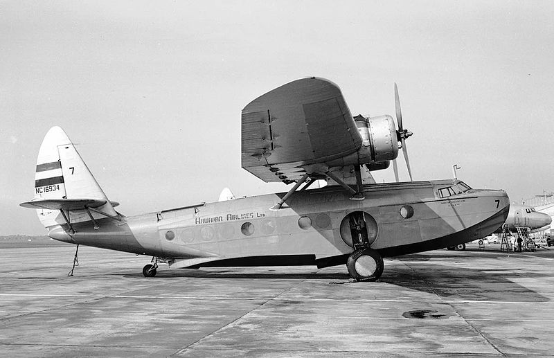 Sikorsky S-43 Baby Clipper civil