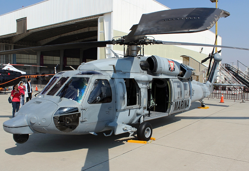 Sikorsky UH-60M Black Hawk mexicain