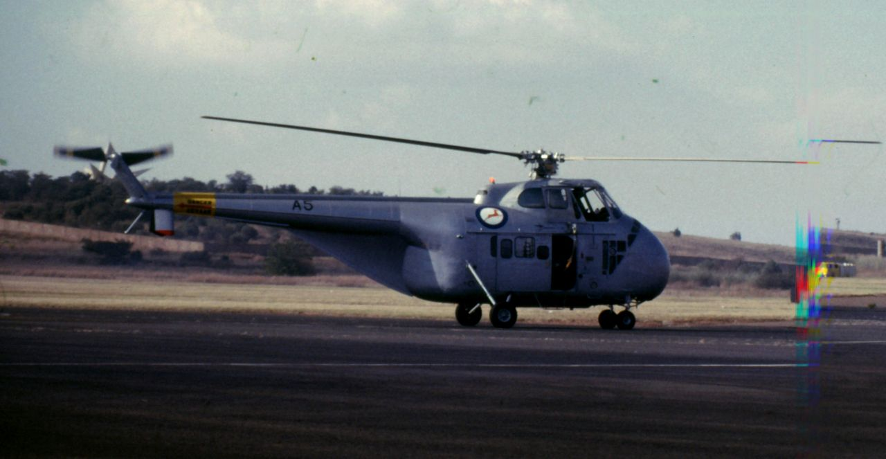 Sikorsky H-19 Chickasaw (Whirlwhind HAS.22) aux couleurs sud-africaines