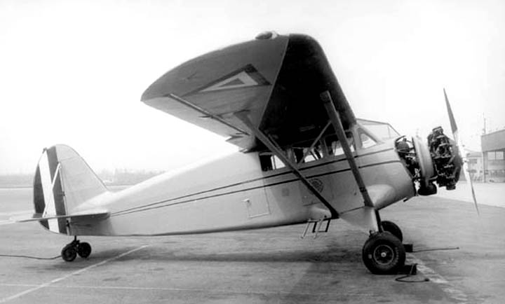 Stinson Reliant (SR.5) mexicain