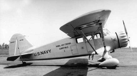 Stinson Reliant (XR3Q-1) de l'US Navy