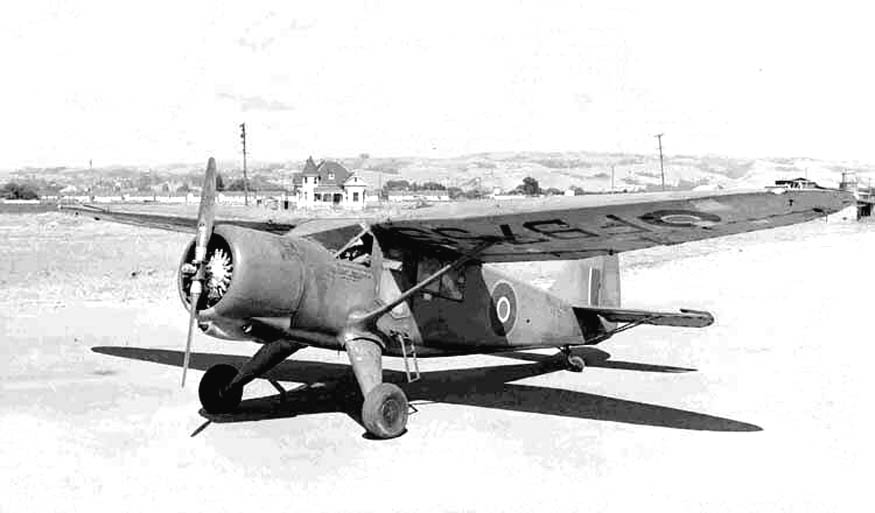 Stinson Reliant (AT-19) de la RAF