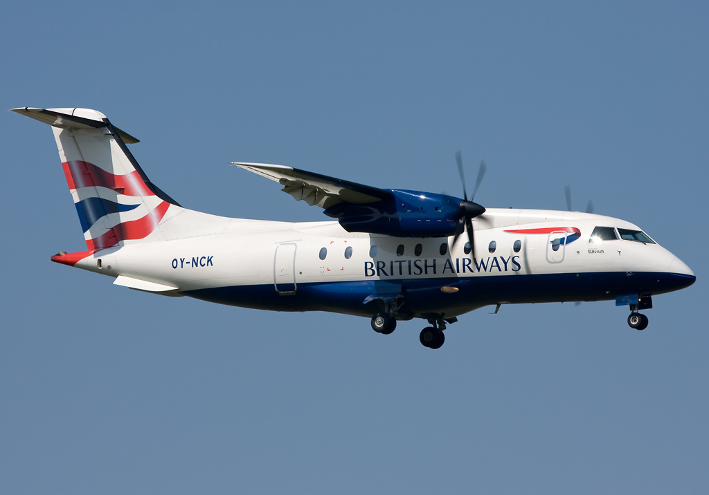 Dornier Do 328-110 de British Airways