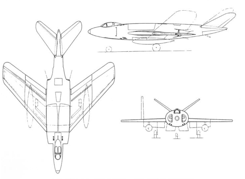 Supermarine 525 - Design initial