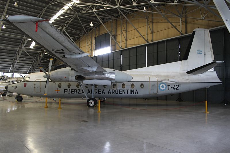 Fokker F27-600 Friendship argentin