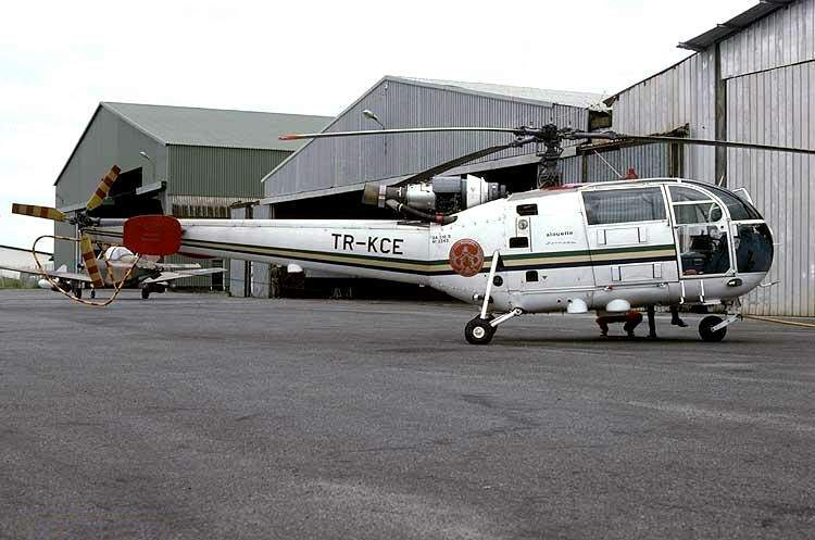 Sud-Aviation SA 319B Alouette III gabonaise