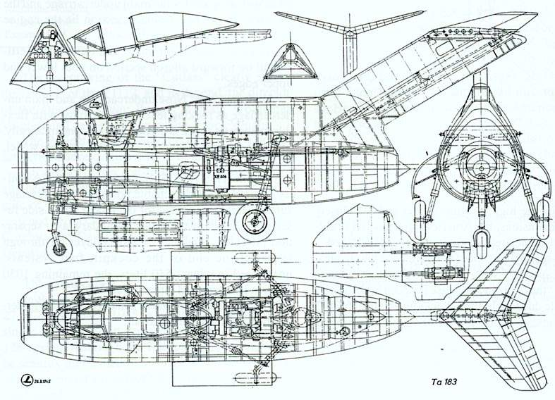 Focke-Wulf Ta 183 Design II - Document original 4