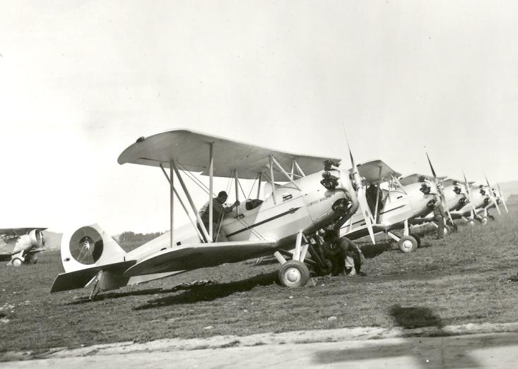 Curtiss-Wright CW-14R colombiens
