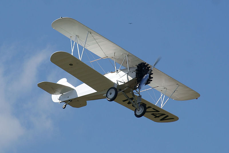 Curtiss-Wright CW-14 (B4000) en vol