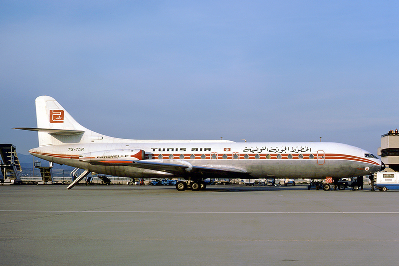 Sud-Aviation SE-210 Caravelle III civil