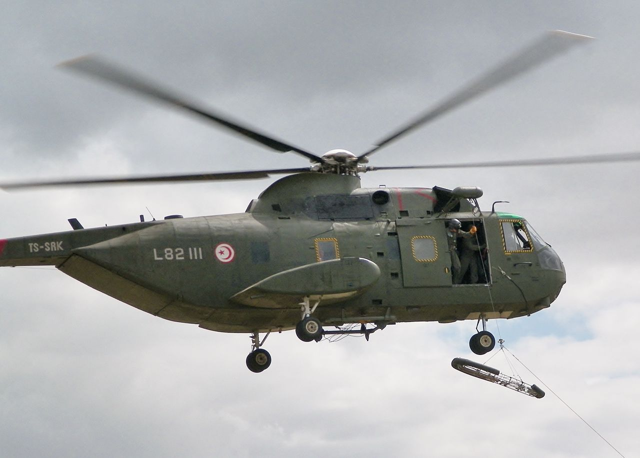 Sikorsky HH-3E Sea King tunisien