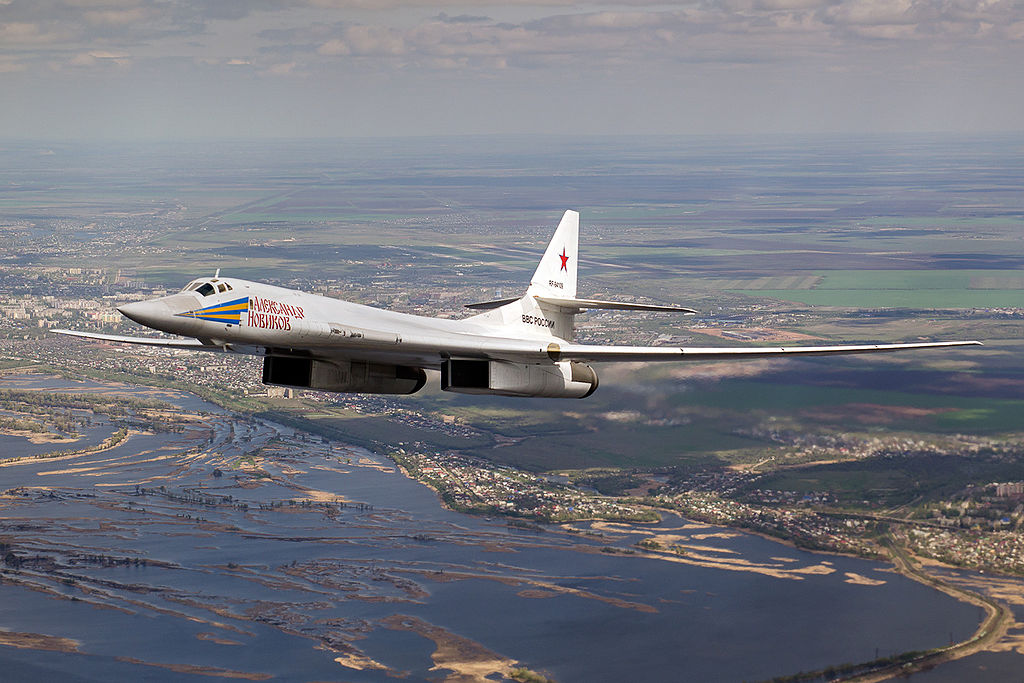 Tupolev Tu-160 Blackjack en vol