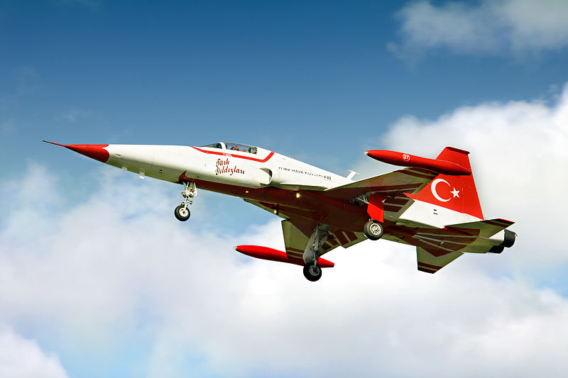 Canadair NF-5A Freedom Fighter de la patrouille Turkish Star