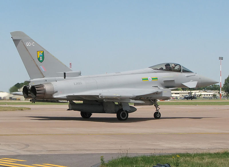 Eurofighter EF-2000 Typhoon F.2 de la RAF