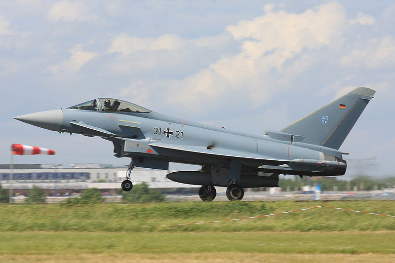 Eurofighter EF-2000 Typhoon monoplace allemand
