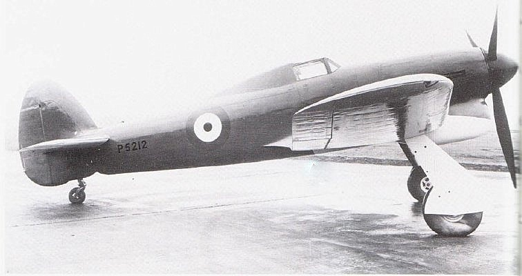 Hawker Typhoon - Prototype