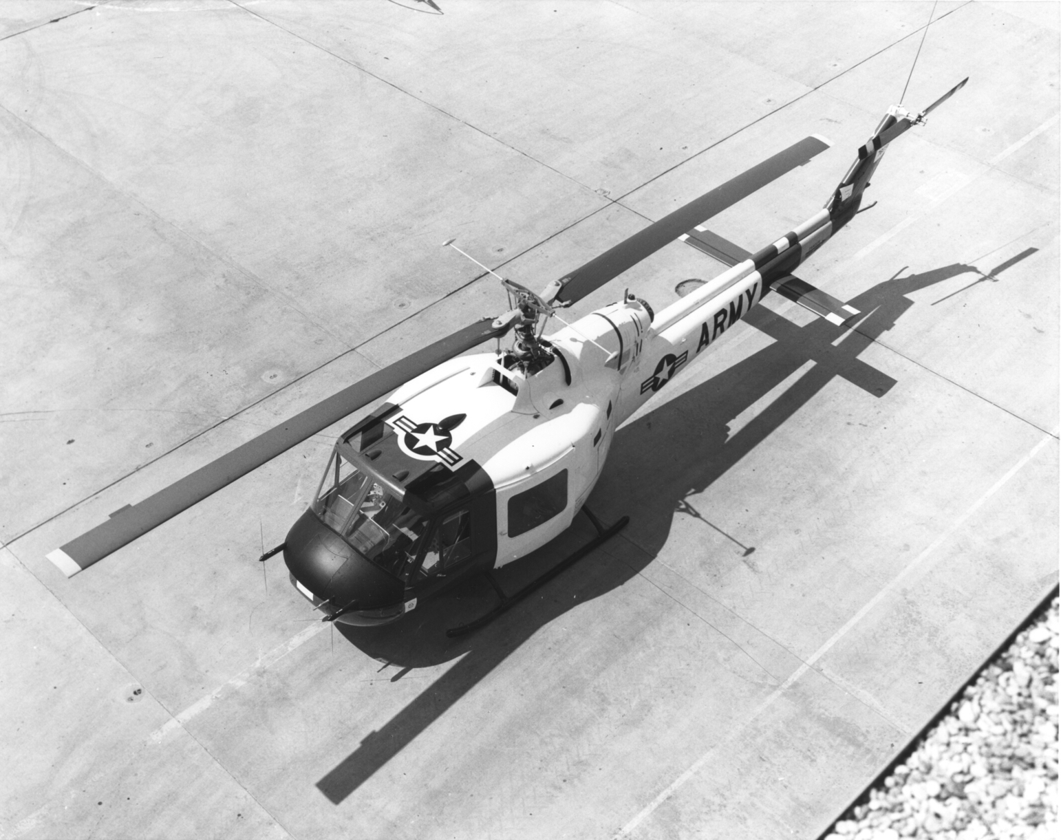 Bell UH-1A Iroquois de l'US Army