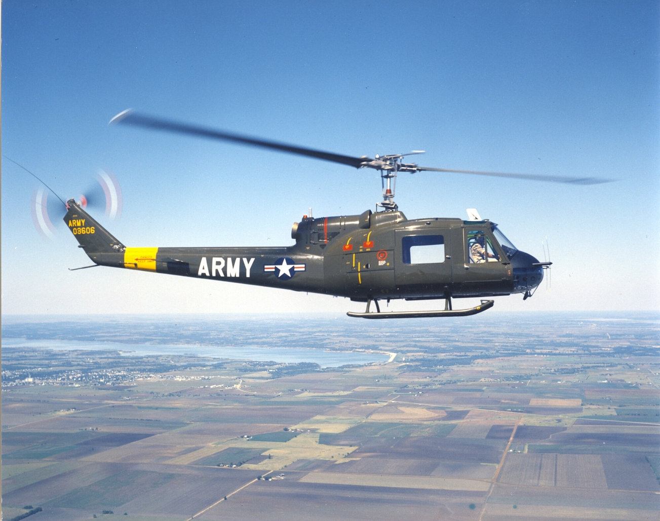 Bell UH-1B Iroquois de l'US Army