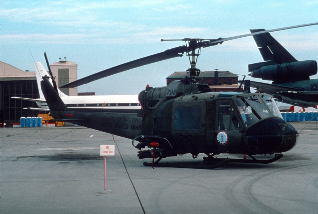 Bell UH-1C Iroquois de l'US Army National Guard
