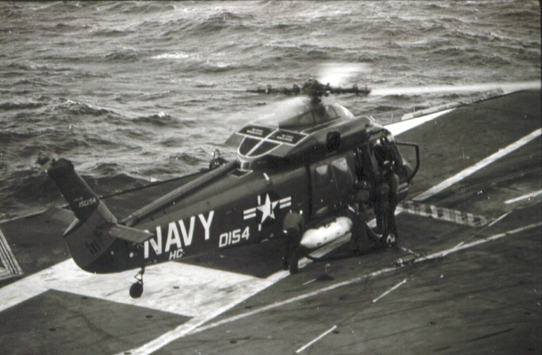 Kaman UH-2C Seasprite de l'US Navy