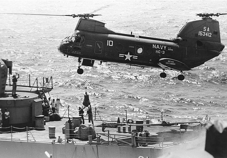 Boeing-Vertol UH-46D Sea Knight de l'US Navy