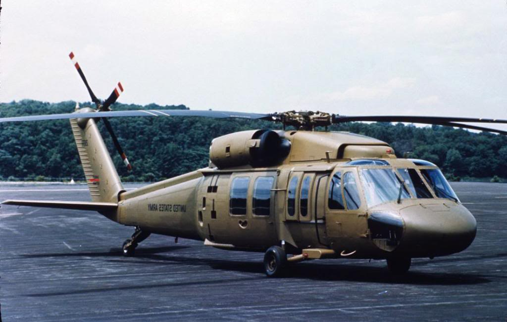 Sikorsky UH-60A Black Hawk de l'US Army