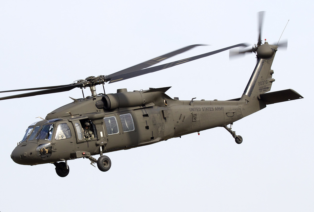 Sikorsky UH-60M Black Hawk de l'US Army