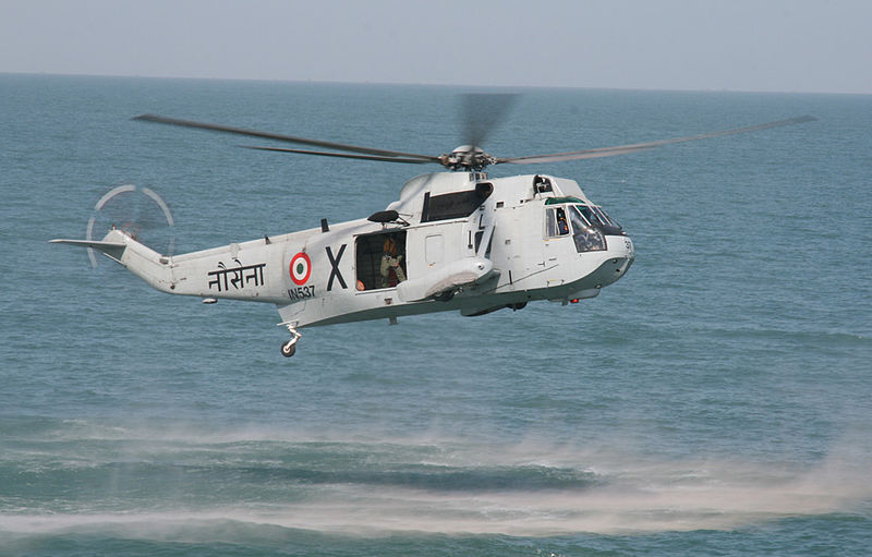 Sikorsky UH-3H Sea King de la marine indienne
