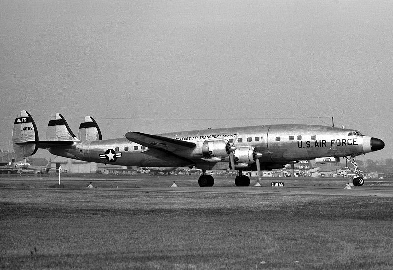 Lockheed C-121C Super Constellation de l'USAF