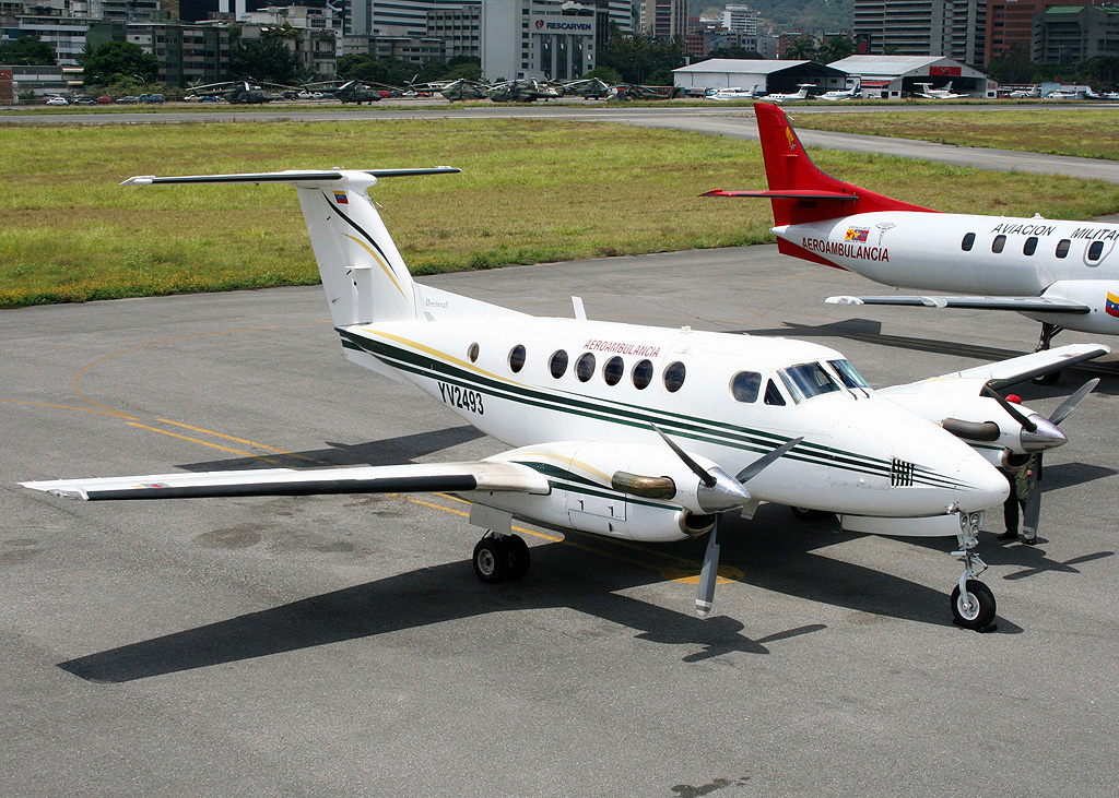 Beech B200C Super King Air venezuelien