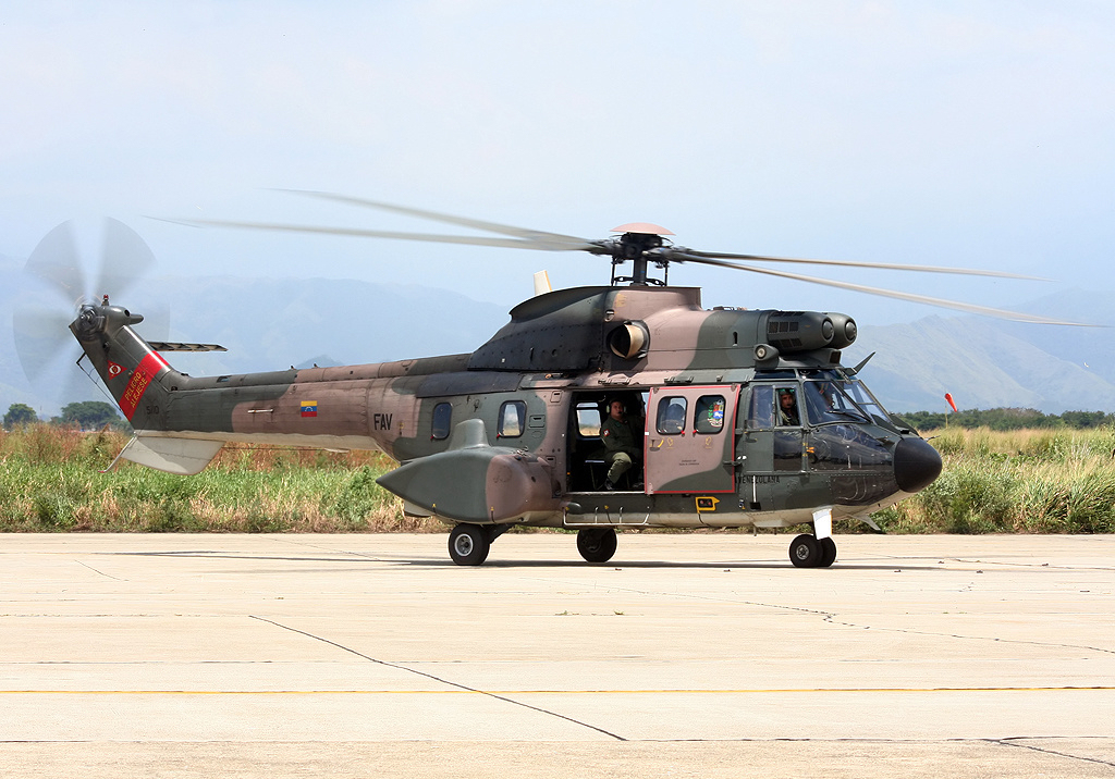 Aérospatiale AS332 B1 Super Puma venezuelien